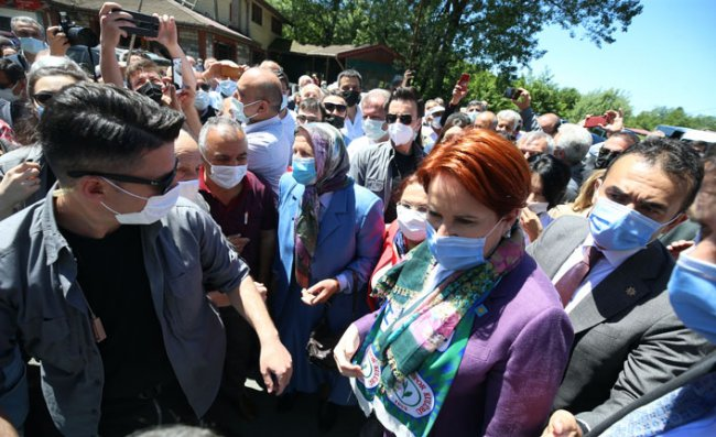 Akşener'in Rize İkizdere Ziyaretinde Gerginlik Yaşandı