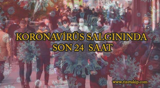 Türkiye'de Koronavirüs Salgınında Son 24 Saat