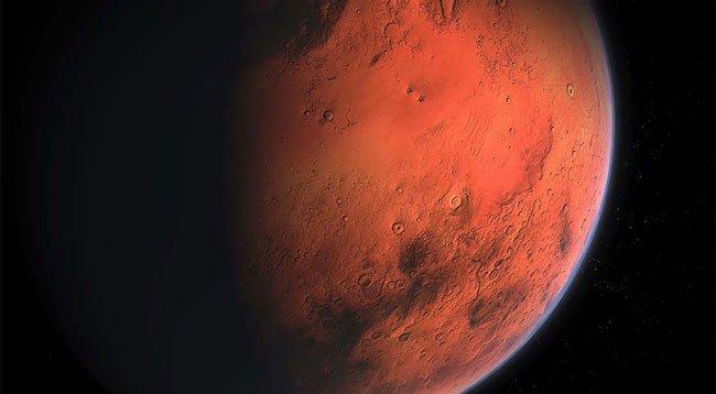 'Tienvın-1' Mars'ın Yörüngesine Girdi