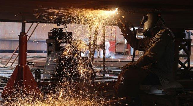 Sanayi Üretim Endeksi Aralık 2020'de Arttı