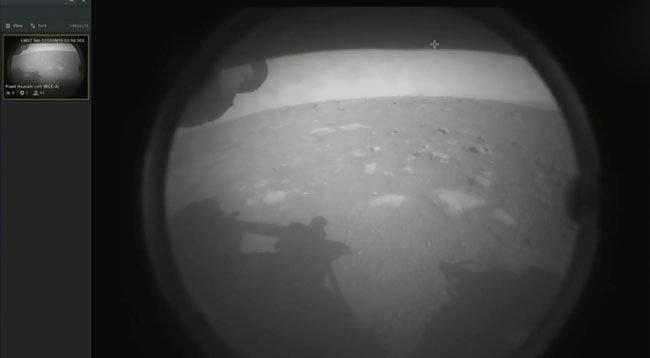 NASA'nın Uzay Aracı 'Perseverance' Mars'a Sorunsuz İniş Yaptı