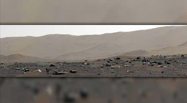 Perseverance, Mars'taki İniş Bölgesinin Panoramasını Kayda Aldı