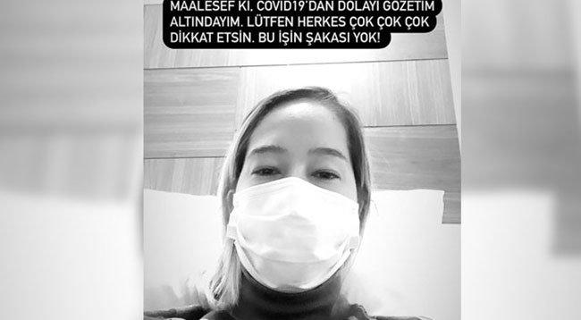 Şarkıcı Gülçin koronavirüse yakalandı