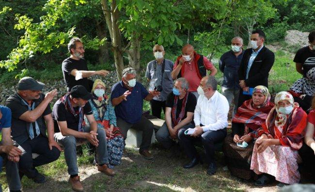 Belediye Başkanları İkizdere'de Vatandaşlarla Görüştü