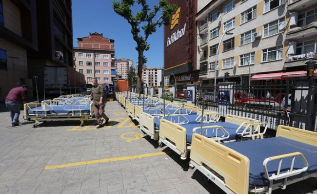 İstanbul'dan Rize'ye 150 Hasta Karyolası Bağışlandı