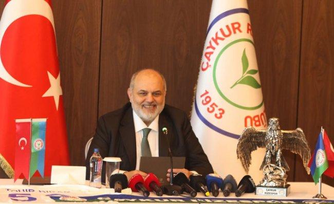 Tahir Kıran, Çaykur Rizespor Başkanlığına Adaylığını Açıkladı