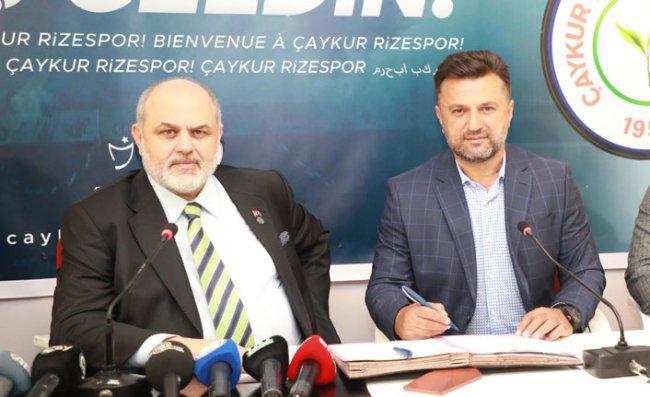Çaykur Rizespor, Teknik Direktör Bülent Uygun ile 3 Yıllık Sözleşme İmzaladı