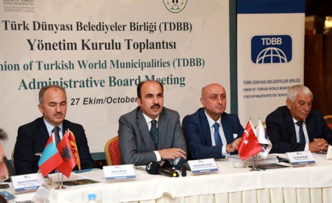 Rize'de TDBB Yönetim Kurulu Toplantısı Yapıldı