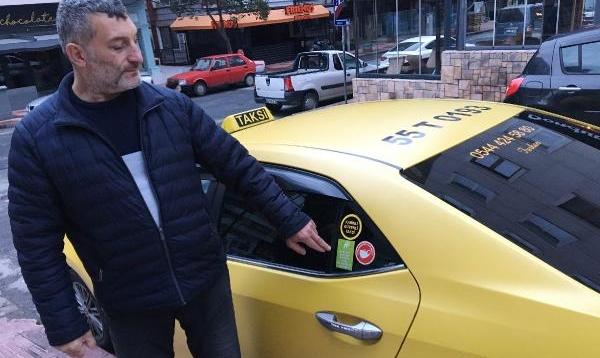 Taksiciden salgına kabinli önlem