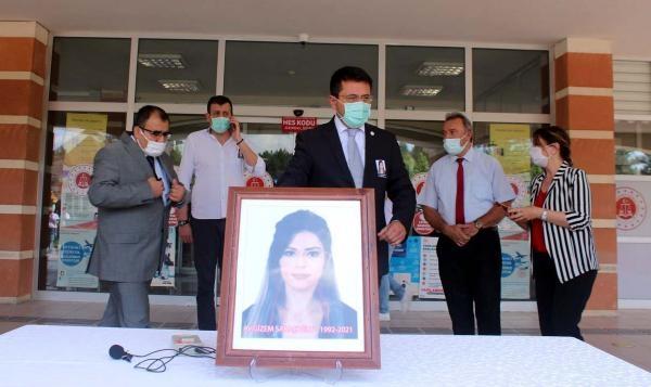 Avukat Gizem, son yolculuğuna uğurlandı
