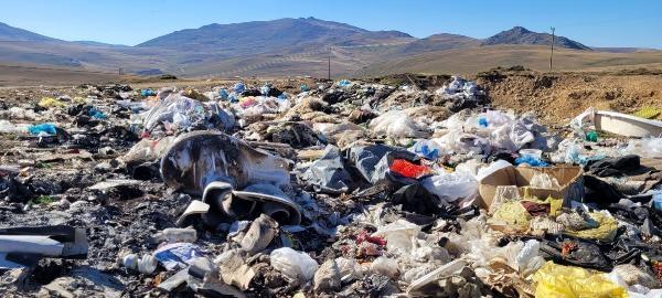 Yaylacılar döndü, çöpleri kaldı