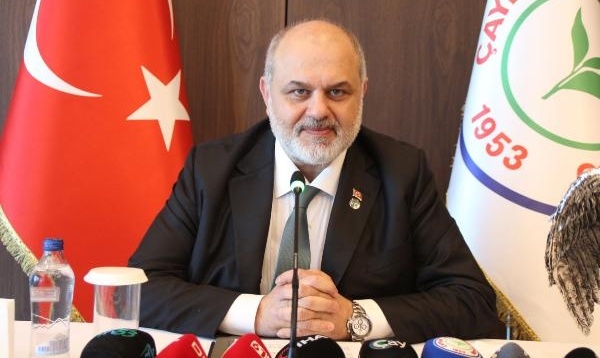 Çaykur Rizespor Başkanı Kıran'dan Okan Buruk açıklaması