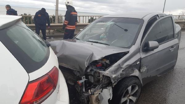 Karadeniz Sahil Yolu'nda 3 ayrı kaza: 2 yaralı