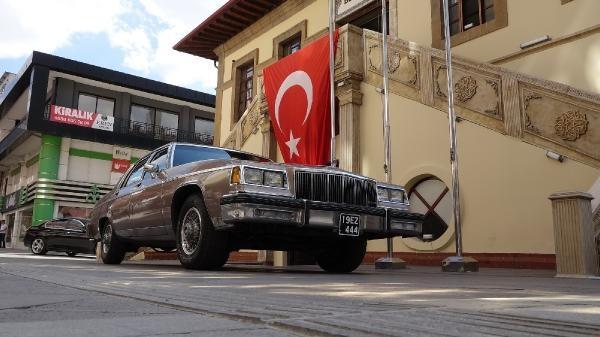 3 başkana hizmet veren 37 yıllık makam otomobili