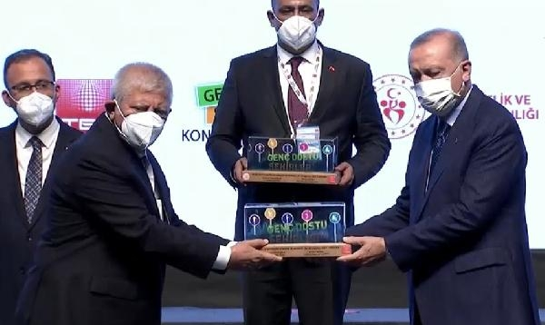 Amasya'ya 'Genç Dostu Şehir' ödülü