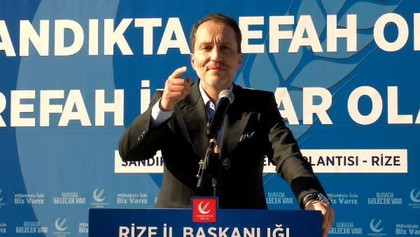 Fatih Erbakan: Parlatılan muhalefetten bu ülkeye hayır gelmez