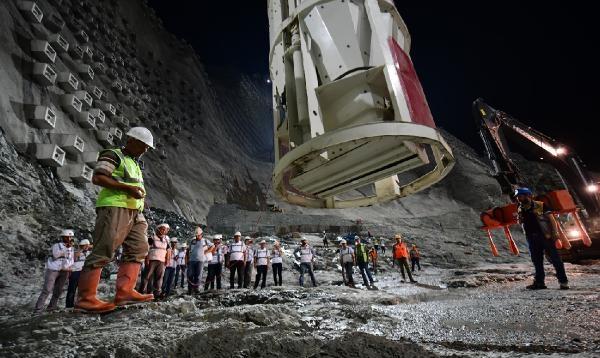Türkiye'nin en yüksek barajı tamamlandı