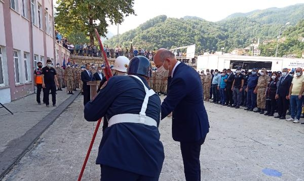 Komandolar bu kez Bozkurt'ta kutlamalara katıldı