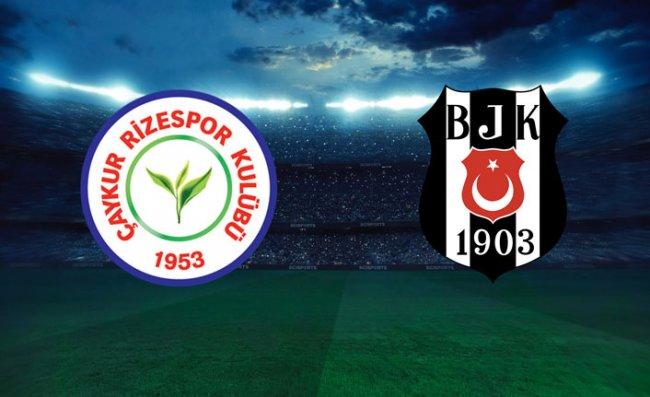 Çaykur Rizespor-Beşiktaş Rekabeti