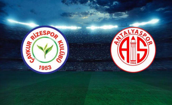 Çaykur Rizespor-Antalyaspor Rekabeti