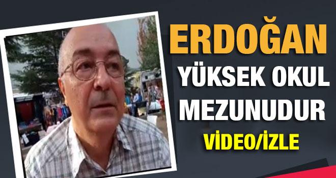 Cumhurbaşkanı Erdoğan`ın Okul Arkadaşı Tartışmaları Sonlandırdı