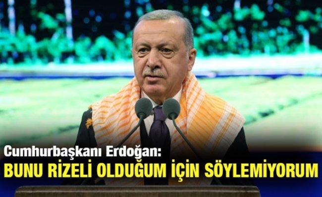 Erdoğan: Çay Üretimini Destekleyeceğiz